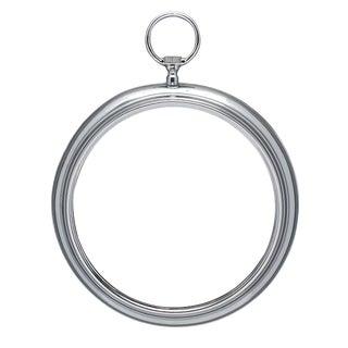 Vintage Silver Pocket Watch Mirror For Sale