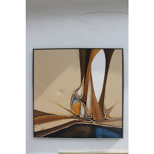 Vintage Abstract Composition by Christie For Sale - Image 11 of 11