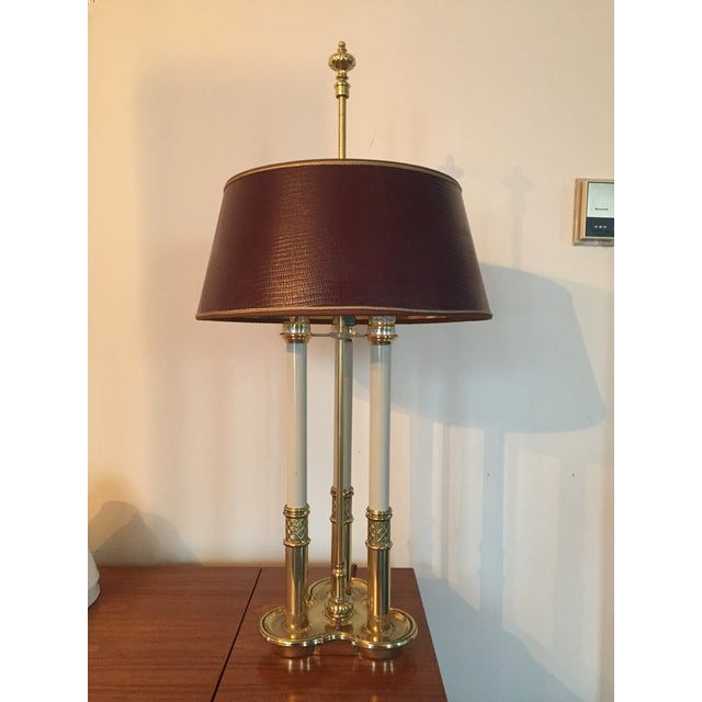Stiffel Bouillotte Candle Desk Lamp - Image 2 of 5