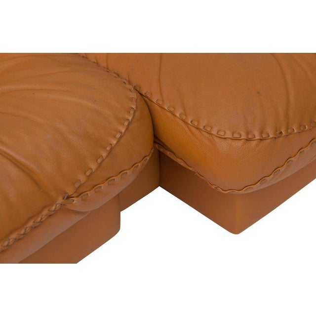 Adjustable Ds 101 Sofa in Brown Leather by De Sede For Sale - Image 6 of 11