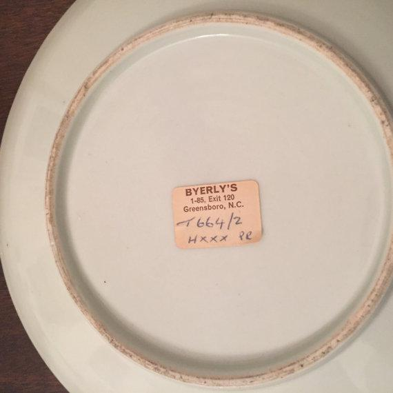 Antique Chinese Blue & White Export Porcelain Side Plate - Image 6 of 6