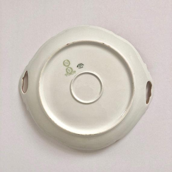 Antique Jean Pouyat Limoges Plate For Sale - Image 9 of 11