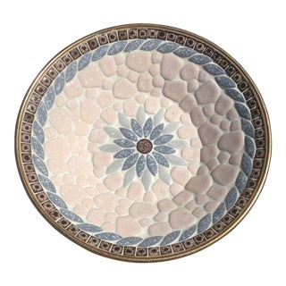 Mid-Century Mosaic Tiled Bowl For Sale