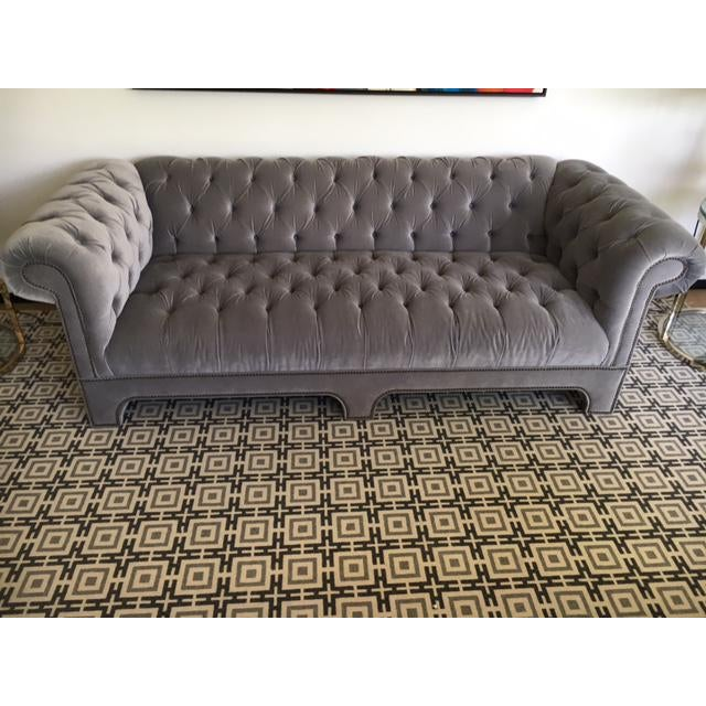 "Mitchell Gold ""Chesterfield"" Sofa For Sale In Los Angeles - Image 6 of 6"