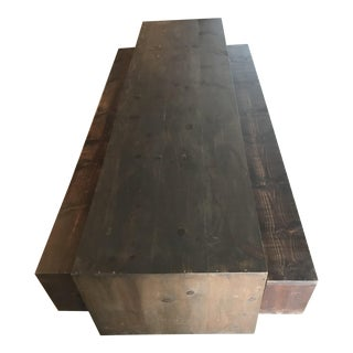 Wood Table & Benches