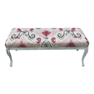 French Style Bench Disressed