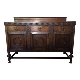 Late 19th Century Antique Wylie and Lochhead Sideboard For Sale