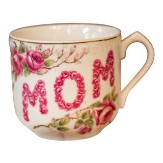 "Vintage Lefton China ""Mom"" Coffee Tea Mug"