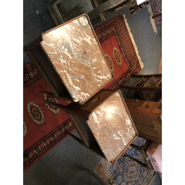 Antique Early 19th Century French End Tables - a Pair For Sale - Image 9 of 13