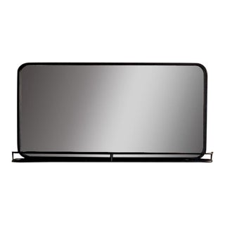 Metal Mirror With Shelf For Sale