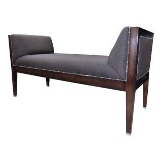 Baker Milling Road Upholstered Bench For Sale