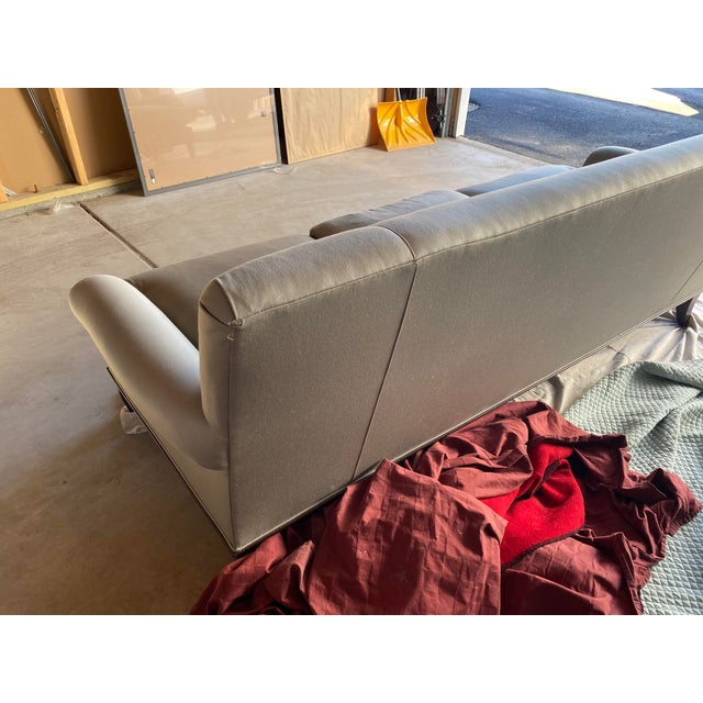 2000 - 2009 Baker Contemporary Rolled Arm Sofa For Sale - Image 5 of 7