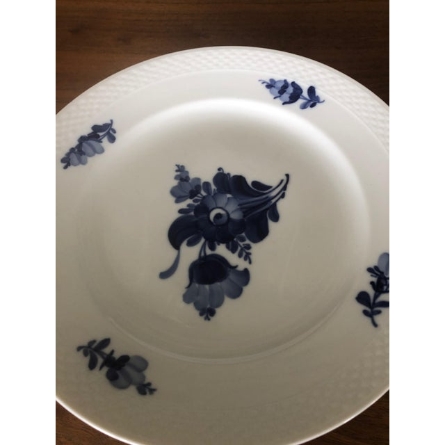 Traditional Vintage Royal Copenhagen Service Dinner Plates - Set of 10 For Sale - Image 3 of 12