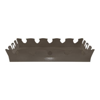 Oomph Ocean Drive Outdoor Tray, Dark Gray For Sale