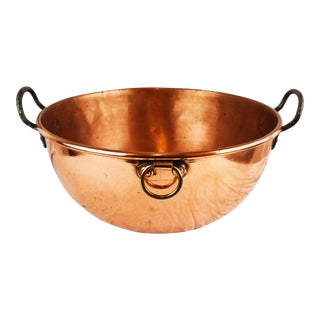 Handmade Copper Bowl For Sale