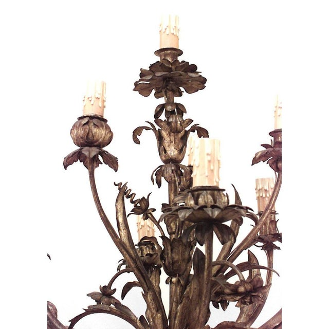 Pair of French Louis XV Style, 19th Century Gilt Cupid Torchiere For Sale In New York - Image 6 of 8