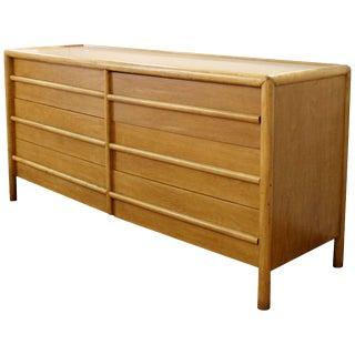 Mid-Century Modern Robsjohn-Gibbings for Widdicomb Six-Drawer Walnut Dresser For Sale
