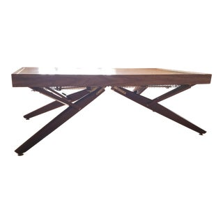 1950s Mid Century Modern Bernard Castro Convertible Dining Table For Sale