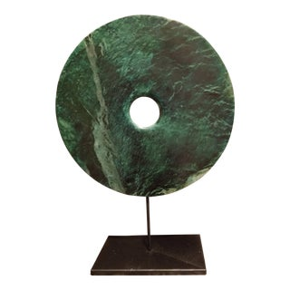 Jade Chinese Bi Disk For Sale