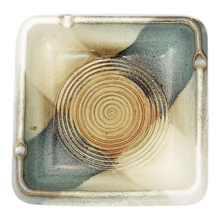 Pottery Craft Mid-Century Ashtray Catchall For Sale