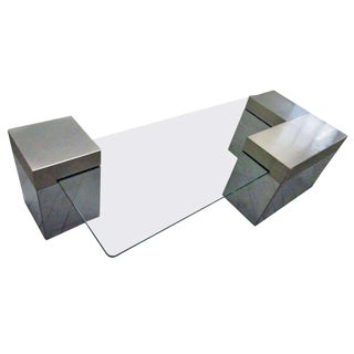 Chrome Coffee Table For Sale