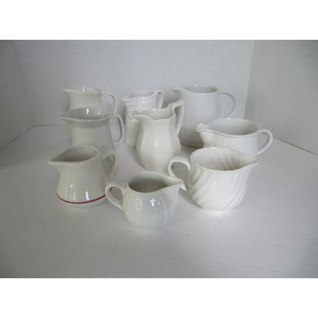 Collection of Cream Pitchers - Set of 9 - Image 2 of 8