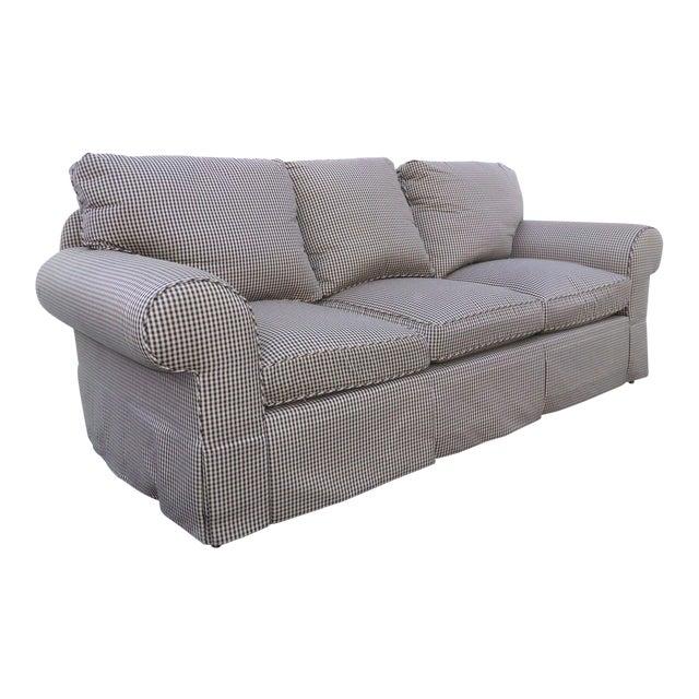 Glabman Furniture Plaid 3 Seater Sofa - Image 1 of 11