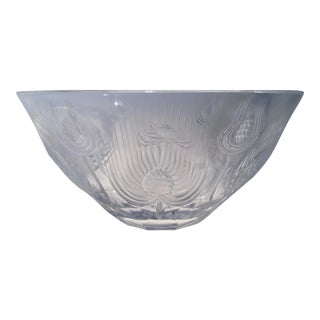 Vintage Lalique Balmoral Thistle Bowl For Sale