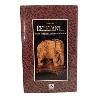1989 l'Elefante The Elephant Italian Book For Sale