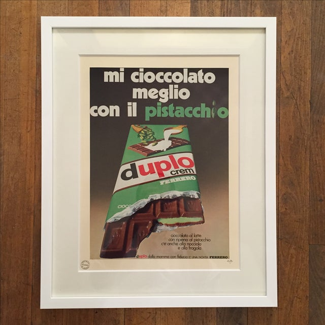 1970 Vintage Advertising Print Ferrero Duplo Crem - Image 2 of 6