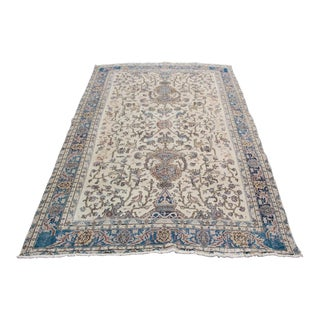 1970s Vintage Turkish Rug - 6′7″ × 10′ For Sale