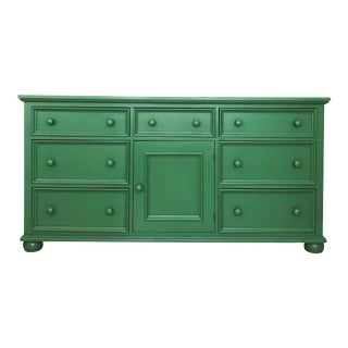 Magnolia Green Buffet/Sideboard For Sale