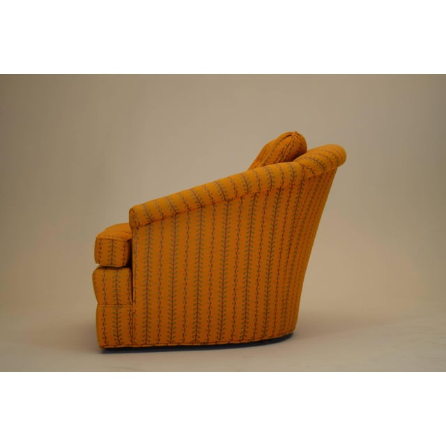 "Kay Lambeth For Erwin-Lambeth 1964 37"" deep, 31"" wide and 29"" tall. The seat height is 15"" For offer is a signed vintage..."