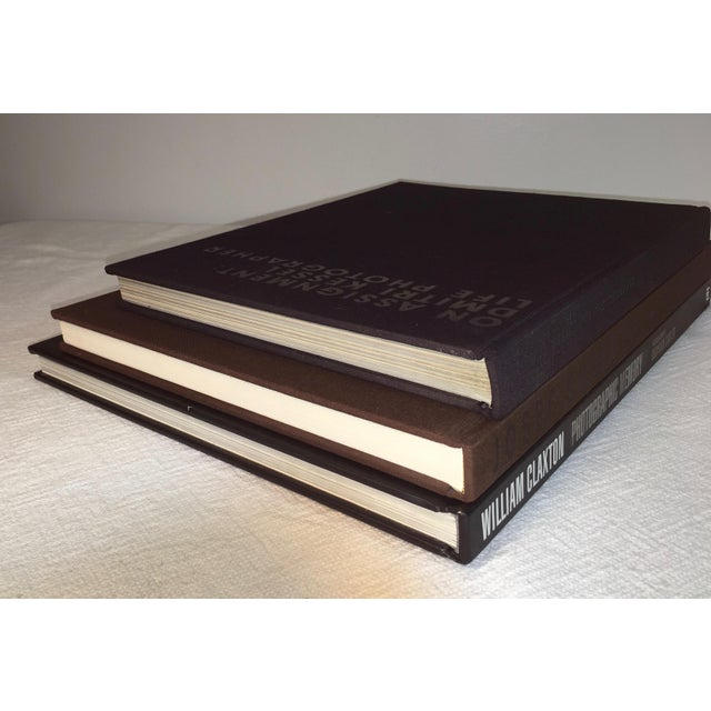 Oversized art photography coffee table books set of 3 for Photography coffee table books