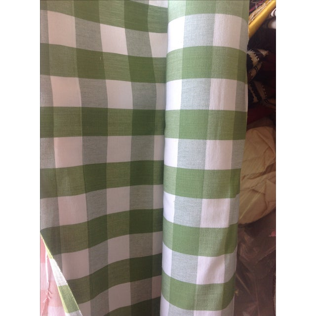 Ralph Lauren Green Bedford Gingham - 5 Yards - Image 3 of 4