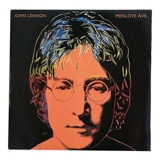 Andy Warhol John Lennon Record Art 1986