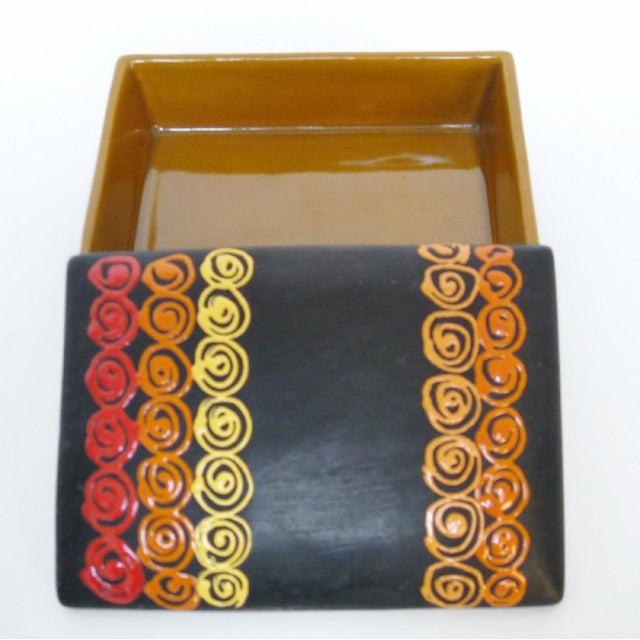 Rosenthal Netter Bitossi Rosenthal Netter Ceramic Box For Sale - Image 4 of 9