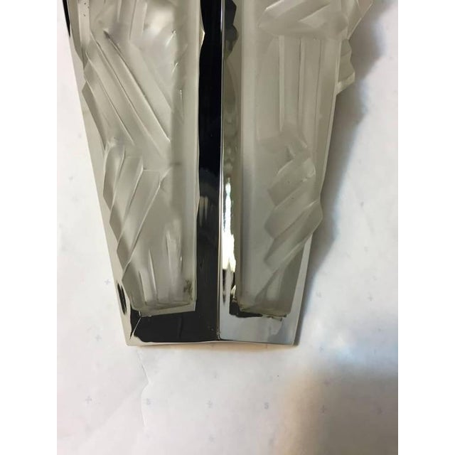 Degue Signed French Art Deco Sconces - A Pair - Image 10 of 10