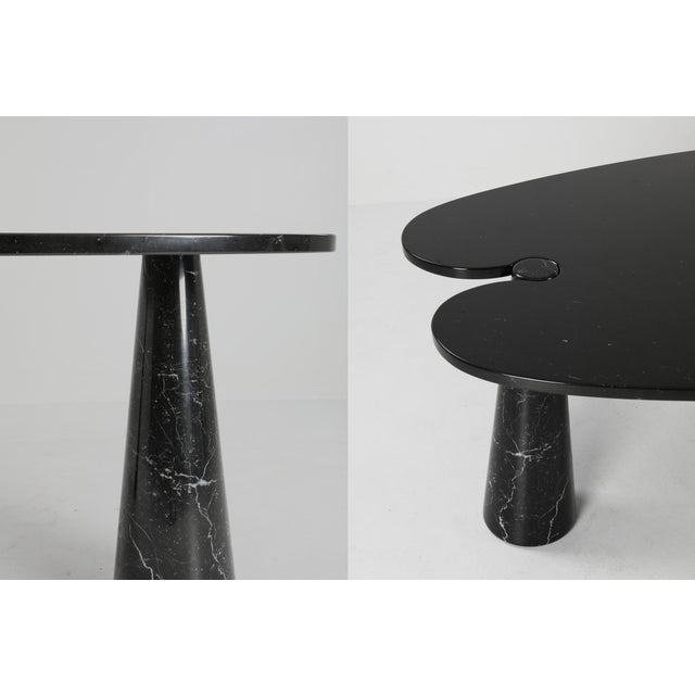 1970s Mangiarotti Black Marble Dining Table for Skipper For Sale - Image 11 of 12