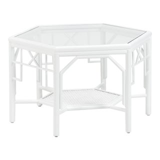 Wild Palm Cocktail Table For Sale