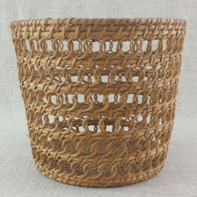 Bamboo Woven Basket - Image 2 of 6