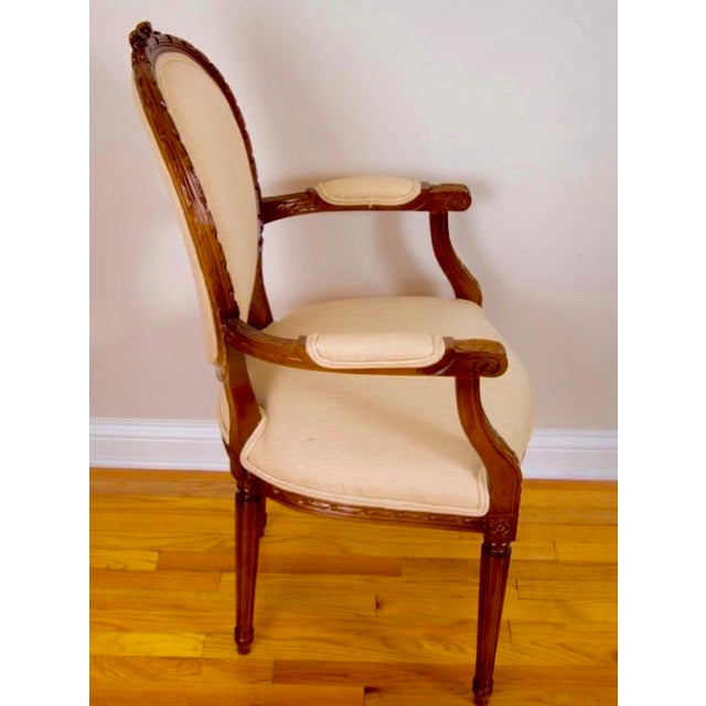Cesar Seda Italian Hand-Crafted Dining Chairs - Set of 8 - Image 3 of 7