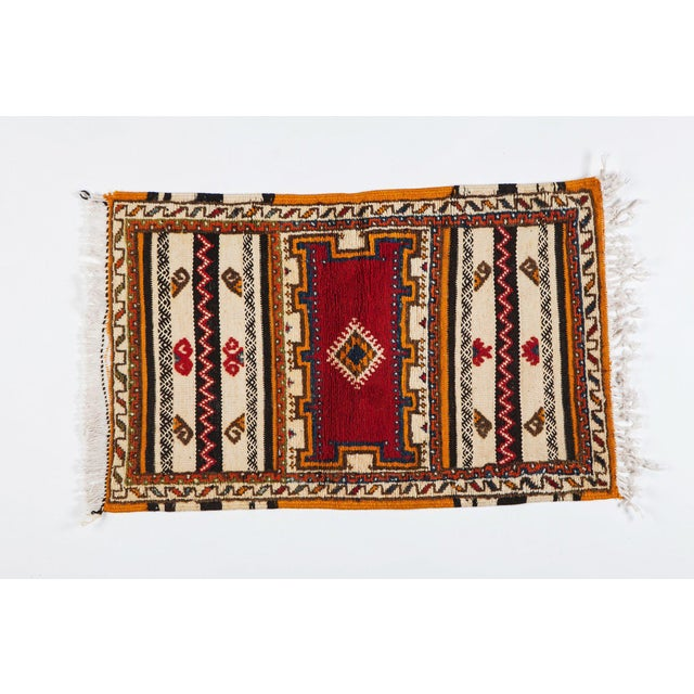 "Moroccan Berber Rug-2'1'x3'4"" For Sale - Image 10 of 10"