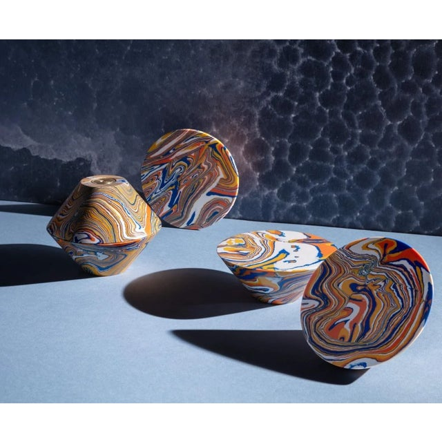 Orange Tom Dixon Swirl Cone Hook For Sale - Image 8 of 10