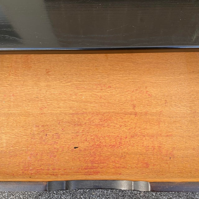 Wood Davis Cabinet Company Asian Modern Credenza For Sale - Image 7 of 13