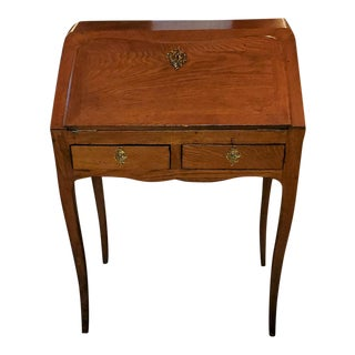 19th French Country Golden Oak Bureau For Sale
