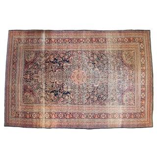 """Antique Kermanshah Carpet - 10'9"""" X 16'3"""" For Sale"""