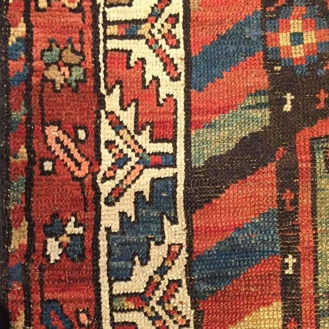 Islamic 19th Century Azeri Runner - 3′3″ × 15′ For Sale - Image 3 of 4