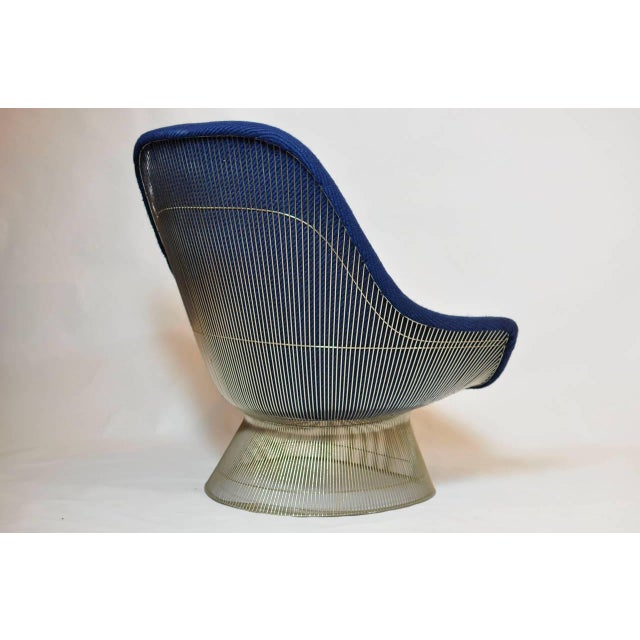 Warren Platner Pair of Warren Platner Lounge Chairs For Sale - Image 4 of 7