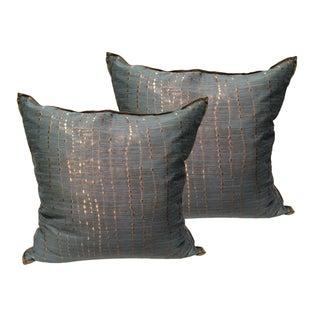 Luxe Designer Pillows - a Pair
